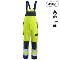 Dungarees High Vis Multinorm