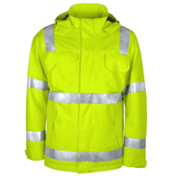 Foul weather jacket Hi Visibility