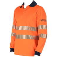 Polo shirt Multinorm, Hi Visibility